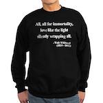 Walt Whitman 22 Sweatshirt (dark)
