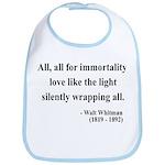 Walt Whitman 22 Bib