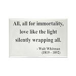 Walt Whitman 22 Rectangle Magnet (100 pack)