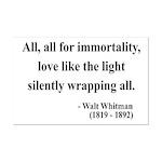 Walt Whitman 22 Mini Poster Print
