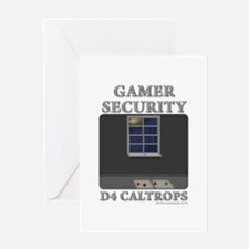 Caltrops Greeting Card