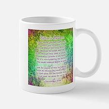 NATURE'S BALANCE POEM - Mug