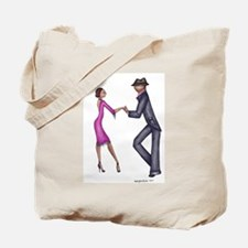 Retro Dancer Tote Bag