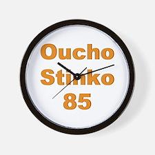 Oucho Stinko Wall Clock