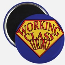 Working Class Hero Magnet