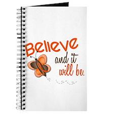 Believe 1 Butterfly 2 ORANGE Journal