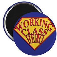 "Working Class Hero 2.25"" Magnet (10 pack)"