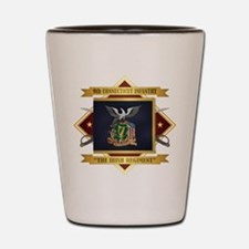 9th Connecticut Infantry Shot Glass