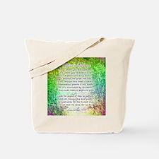 NATURE'S BALANCE POEM - Tote Bag