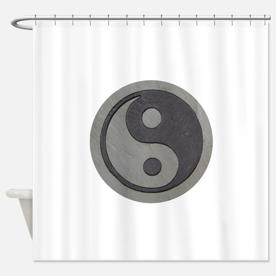 YingYang032809.png Shower Curtain
