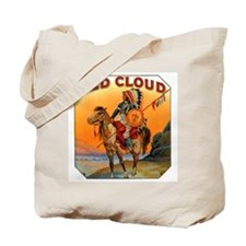 Red Cloud Indian Chief Tote Bag