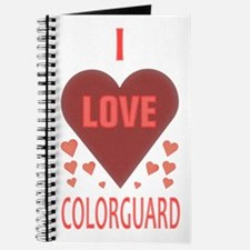 I Love Colorguard Journal