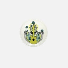 Rock Chick Mini Button (100 pack)