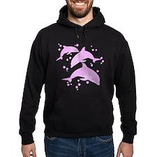 Pink Dolphins Hoodie