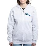 Dolphin Women's Zip Hoodie