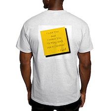 God Supports Safe Sex Ash Grey T-Shirt