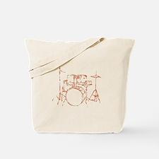 Drum Kit Drums Set Tote Bag