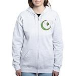 Islamic Symbol Women's Zip Hoodie