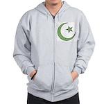Islamic Symbol Zip Hoodie