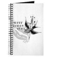 Bird and Sword Tattoo Journal