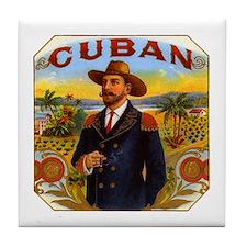 Cuba Cuban Tile Coaster