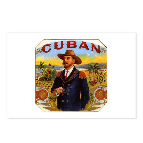 Cuba Cuban Postcards (Package of 8)