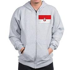 Vienna Flag Zip Hoodie