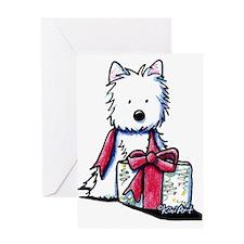 Westie Gift II Greeting Card