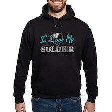 I Heart My Soldier Hoody