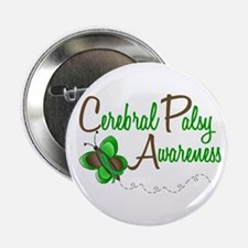 "CP Awareness 1 Butterfly 2 2.25"" Button"