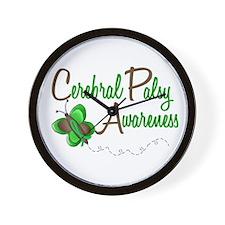 CP Awareness 1 Butterfly 2 Wall Clock