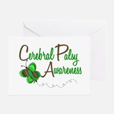 CP Awareness 1 Butterfly 2 Greeting Card