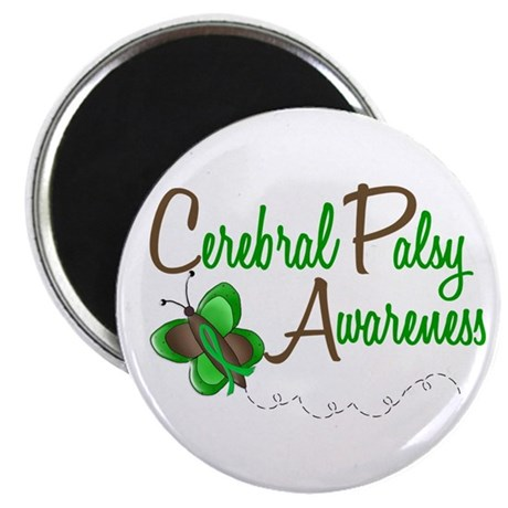 """CP Awareness 1 Butterfly 2 2.25"""" Magnet (10 pack)"""