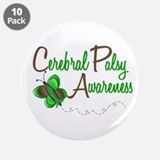 "CP Awareness 1 Butterfly 2 3.5"" Button (10 pack)"
