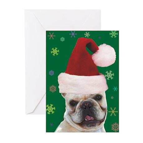 Christmas French Bulldog Greeting Cards (Pk of 10)