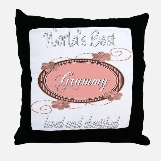 Cherished Grammy Throw Pillow