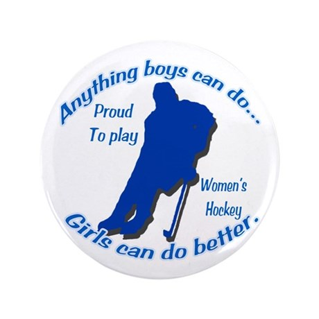 """Anything Boys Can Do... 3.5"""" Button (100 pack)"""