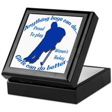 Anything Boys Can Do... Keepsake Box