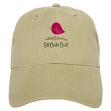 Golf Chicks ROCK! Baseball Hat