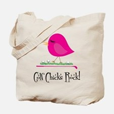 Golf Chicks ROCK! Tote Bag