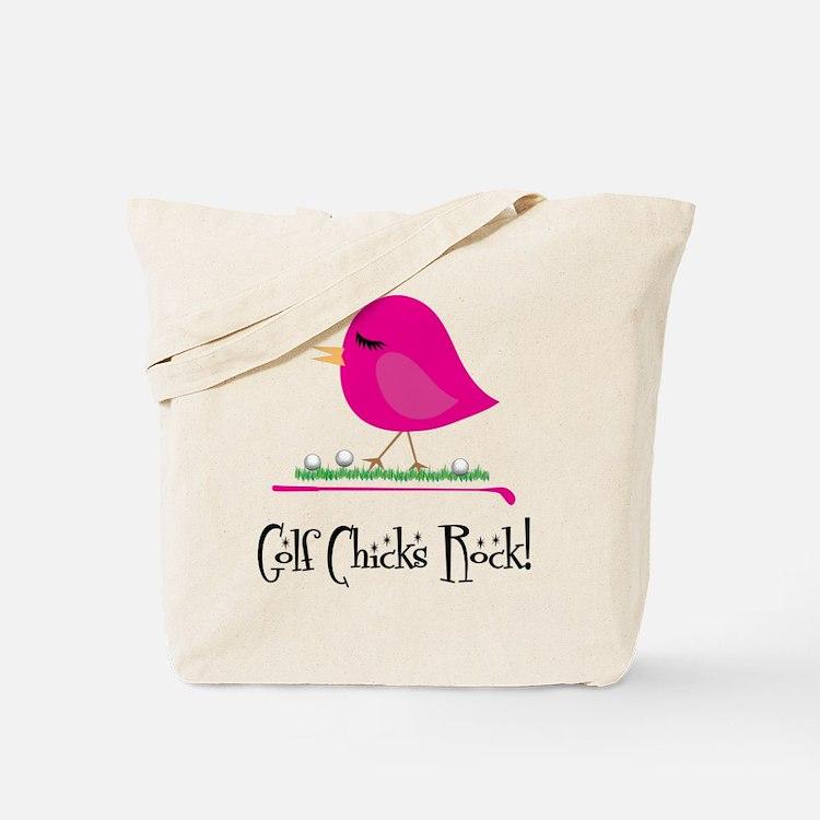 Golf Chicks ROCK! Tote Bag
