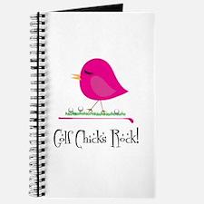 Golf Chicks ROCK! Journal