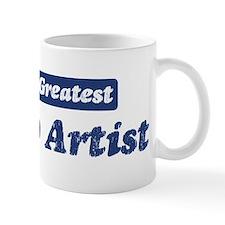 Worlds greatest Tattoo Artist Small Mug
