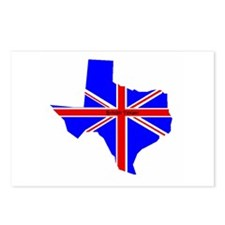 British Texan Postcards (Package of 8)