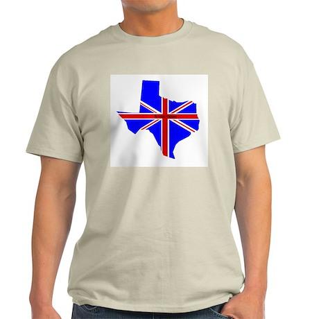 British Texan Ash Grey T-Shirt