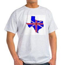 British Texan Ash Grey T-Shirt