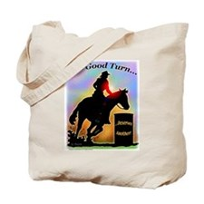 One Good Turn Barrel Racer Tote Bag