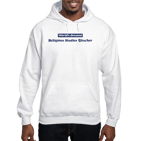 Worlds greatest Religious Stu Hooded Sweatshirt