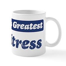Worlds greatest Waitress Mug