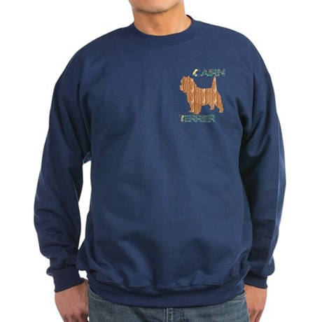 Cairn Terrier Sweatshirt (dark)